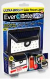 As Seen On TV Ever Brite™ Motion Activated Solar Power LED Light | Bell and Howellnull