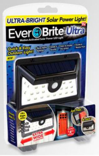 As Seen On TV Ever Brite™ Motion Activated Solar Power LED Light