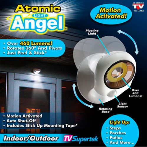 As Seen On TV Atomic Light Angel Motion Activated LED Security Light