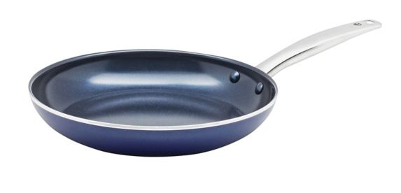 As Seen On TV Blue Diamond Non-Stick Frying Pan, 10-in