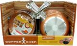 Batterie de cuisine Copper Chef, comme à la télé, 4 pces | As Seen On TVnull
