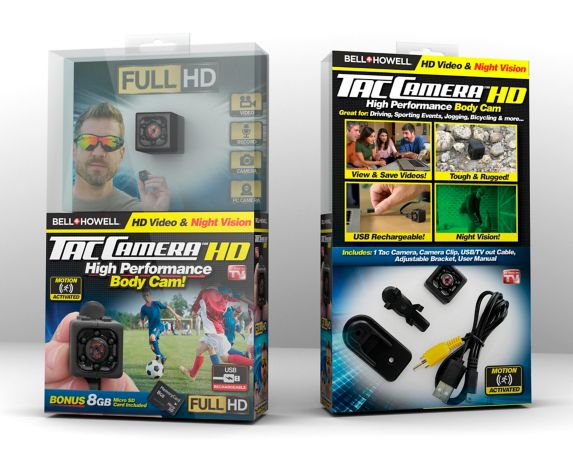 As Seen On TV Bell & Howell Tac Camera