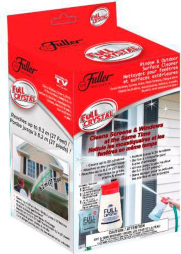 As Seen On TV Full Crystal Window & Outdoor Surface Cleaner Kit Product image