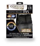 Bandage de support pour le dos Copper Fit Rapid Relief, comme à la télé   As Seen On TVnull