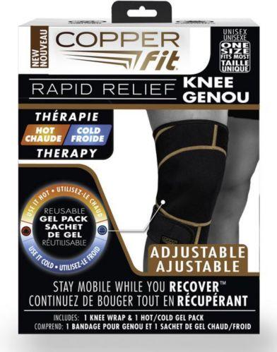 Bandage pour le genou Copper Fit Rapid Relief, comme à la télé