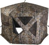 Huntshield Mega Ground Hunting Blind, Realtree Camo | HUNTSHIELDnull