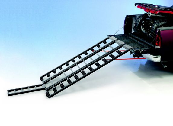 Premium ATV & Snowmobile Loading Ramp with Track Extension Product image