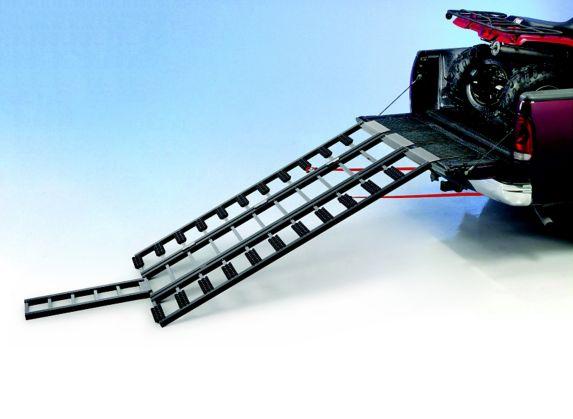 Rampe de chargement pour motoneige et VTT avec rallonges