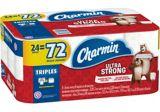 Charmin 2-Ply Ultra Strong Bathroom Tissue, 24 Triple Rolls   Charminnull