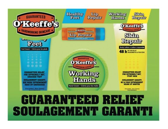 O'Keeffe's Ultimate Gift Pack, 4-pc Product image