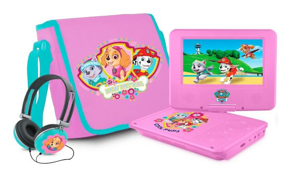 PAW Patrol Portable DVD Player, Pink Product image