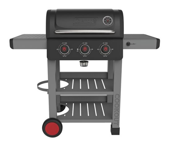 Coleman Cookout 3-Burner Propane BBQ