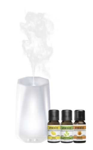 HoMedics Connect Aroma Diffuser & Essential Oils Set, 3-pk