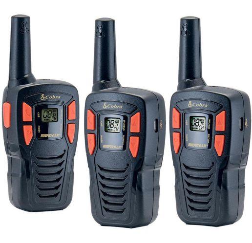 Cobra 26-km GMRS 2-Way Radio, 3-pk Product image