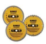 DEWALT Circular Saw Blades, 12-in, 3-pk | DEWALTnull