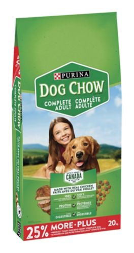 Purina Dog Chow Adult Dog Food, Chicken, 20-kg Product image