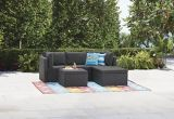 For Living Wicker Patio Sectional Set with Cushions, 3-pc | FOR LIVINGnull