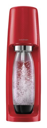 SodaStream Fizzi Sparkling Water Maker, Jumpstart Red