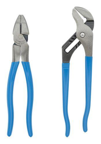 Pinces multiprises Channellock Linesmen, paq. 2 Image de l'article