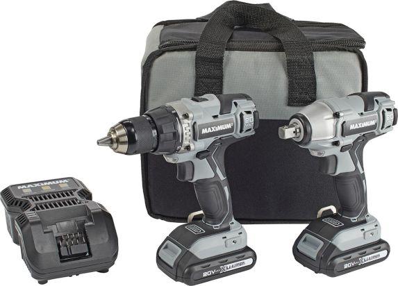 MAXIMUM 20V Max Drill Driver & Impact Wrench Combo Kit Product image