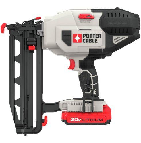 Cloueuse de finition Porter Cable 20 V Max, calibre 16 Image de l'article