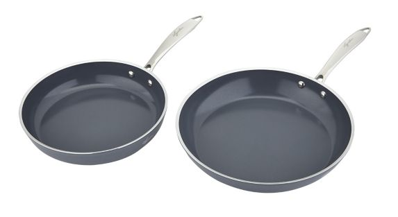 Lagostina Natura-Pro Non-Stick Fry Pan Set, 2-pc