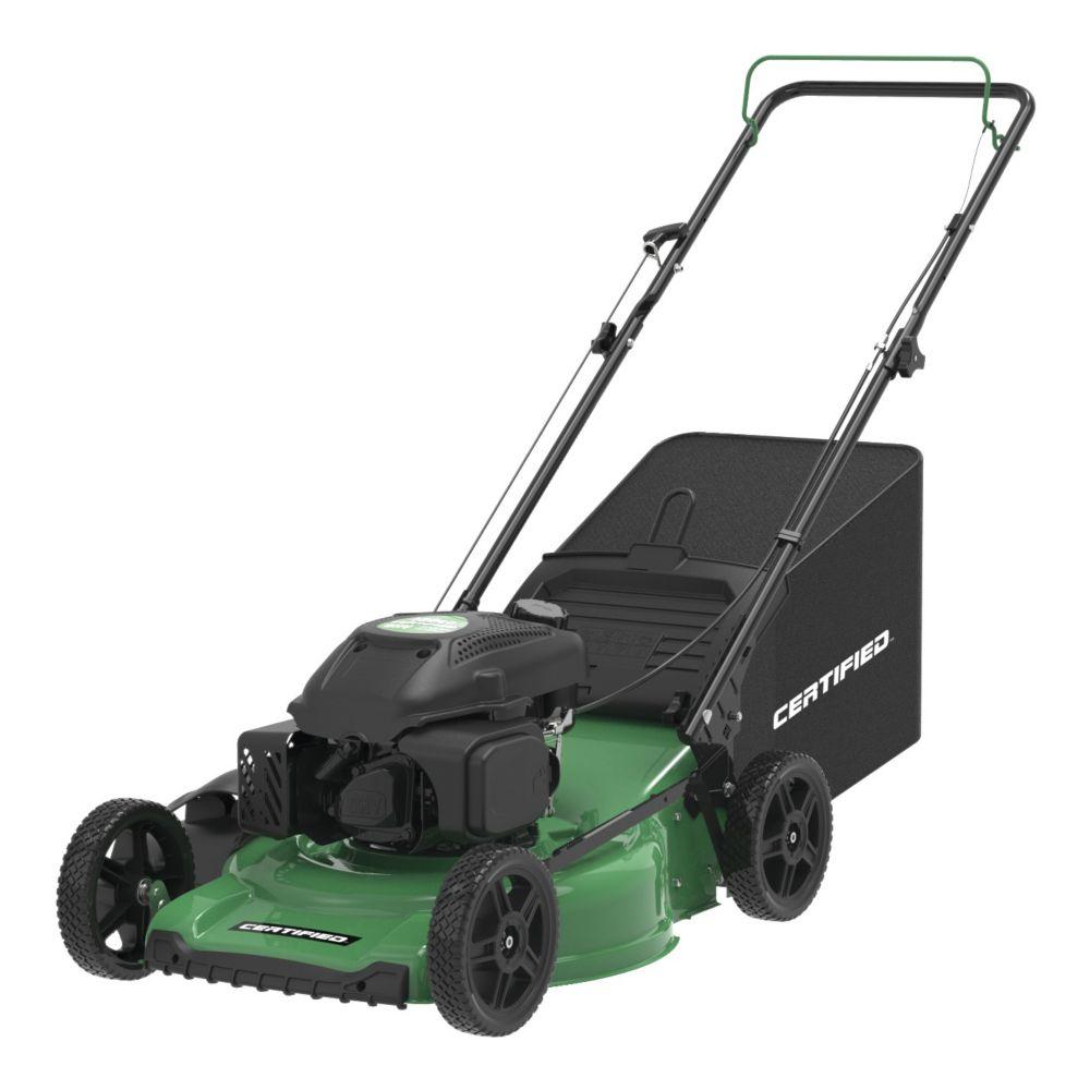 Certified 150cc 3-in-1 Push Lawn Mower, 21-in