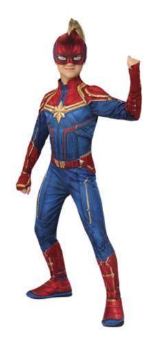Costume d'Halloween Marvel, Capitaine Marvel, tailles variés Image de l'article