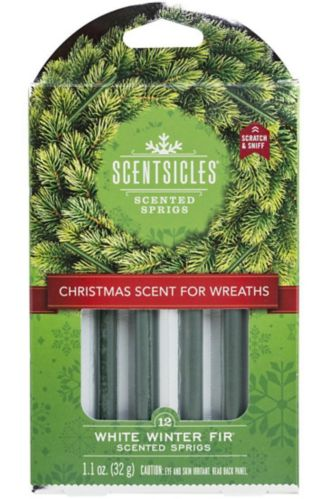 Scentsicles Scented Sprigs, White Winter Fir, 12-pk Product image