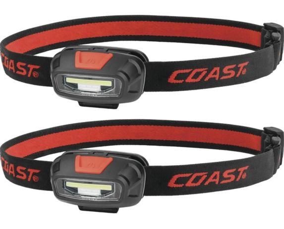 Lampes frontales COB à 2 couleurs Coast, paq. 2 Image de l'article