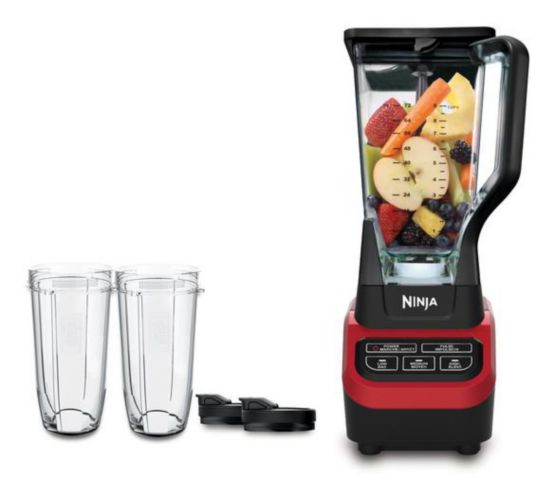 Ninja 1000W Professional Blender with Nutri Ninja® Tritan™ Cups, Pearlized Red Product image