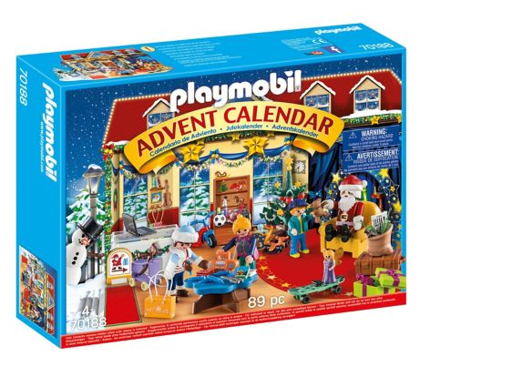 PLAYMOBIL Santa's Workshop Advent Calendar Product image
