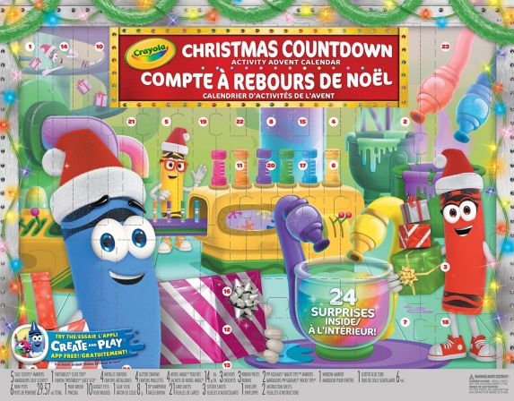 Crayola Christmas Countdown Activity Advent Calendar Product image