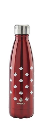 Manna Canada Day Pattern Water Bottle