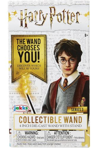 Harry Potter Diecast Wands, Assorted, 4-in