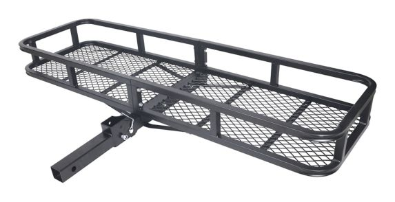 Folding Hitch Mounted Cargo Carrier Product image