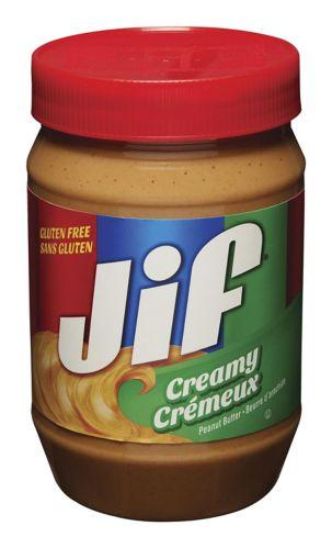 Beurre d'arachides crémeux Jif, 1 kg