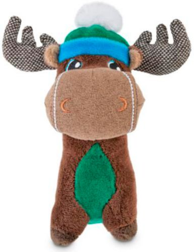 Petco Holiday Tails Assorted Plush Dog Toys, 6-in