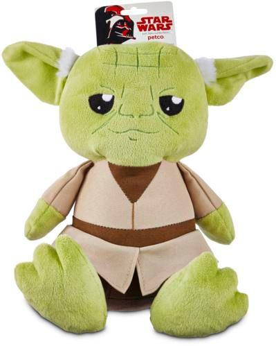 Petco Star Wars Yoda Plush Dog Toy, Medium