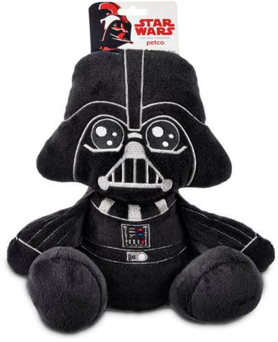 Peluche Petco pour chiens Star Wars Darth Vader, moyen Image de l'article