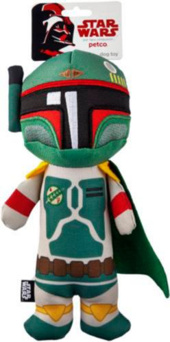 Petco Star Wars Boba Fett Stick Dog Toy