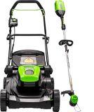 Greenworks 60V Lawn Mower/String Trimmer Combo Kit | GREENWORKSnull