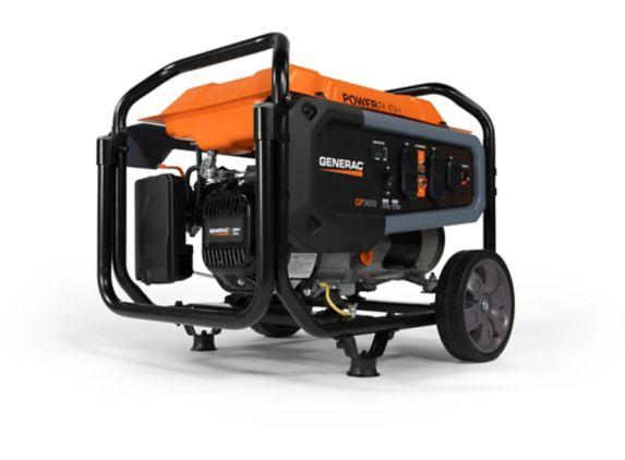 Generac 3600W / 4500W Portable Open Frame Generator Product image
