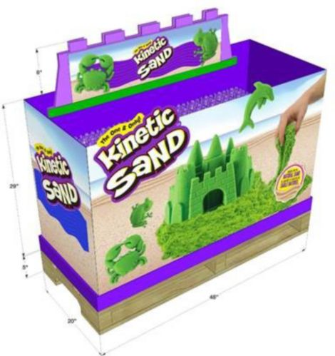 Kinetic Sand Green Sandbox Playset Product image