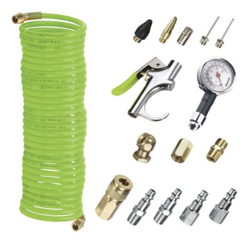 Hymair Auto Pneumatic Accessory Kit, 16-pc Product image