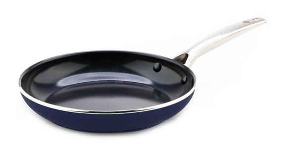 As Seen On TV Blue Diamond Non-Stick Frying Pan, 8-in
