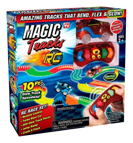 Ensemble de piste de course Magic Tracks, Comme à la télé, paq. 200 Image de l'article