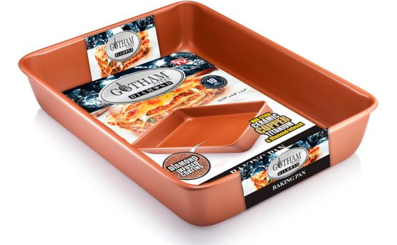 As Seen On TV Gotham Steel Square Baking Pan, Copper Product image