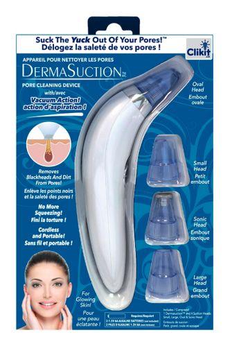 As Seen On TV DermaSuction™ Facial Pore Vacuum, White