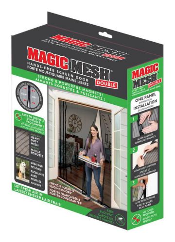 Magic Mesh Hands-Free Magnetic Screen Double Door